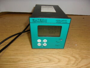 Eutech Instruments Alpha ph800 Ph orp Controller Ecphctp0801 Used