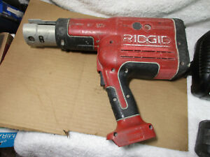 Ridgid Rp330 Pro Press Model With Battery And Charger Tested Works Great