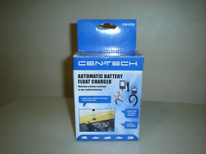 12 Volt Automatic Battery Float Maintainer Trickle Charger By Cen tech Brand New