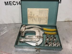 Roper Whitney Xx Hand Punch Set Whitney Jensen Xx Punch Excellent Condition