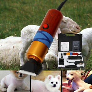 Farm Supplies Sheep Goat Electric Shearing Clipper Animal Shave Shears Grooming