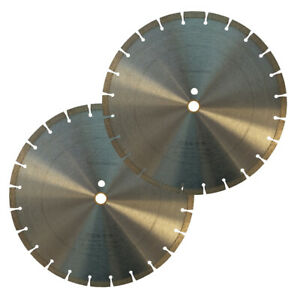 2 Pack 14 General Purpose Segmented Diamond Saw Blade For Concrete Masonry