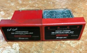Snap On Mt2500 Scanner Cartridges Gm Chrysler Ford Jeep Primary Troubleshooter