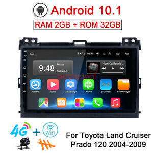 32gb Android 10 1 Radio 4g Gps Car Dvd Player For Toyota Land Cruiser Prado 2004