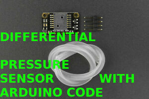 Differential Pressure Sensor 500pa Arduino With Arduino Software Code