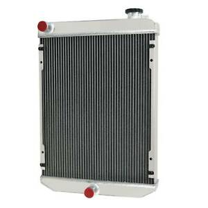 6679831 3 Row Aluminum Radiator For Bobcat Excavators 430 430d 435 435d 435g