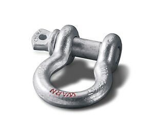 Warn 88999 D Shackle 0 75 Shackle With 7 8 Pin Diameter 6000 Lbs