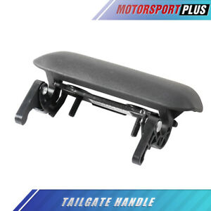 1x Black Tailgate Handle Textured For 1998 2011 Ford Ranger Fo1915109