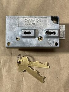 Champion 175 70 Rh Safe Deposit Lock Right Hand