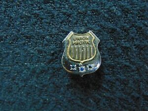 10K GOLD FILL UNION PACIFIC SERVICE PIN WITH BACK $50.00