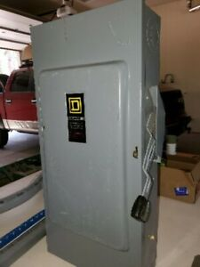 Square D Safety Switch 200 Amp 240 Volt 2 Pole