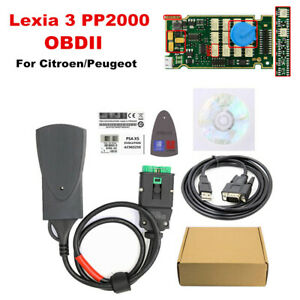 Pp2000 Obd2 Diagnostic Tool Diagbox V7 83 Software Full Chip For Citroen Peugeot