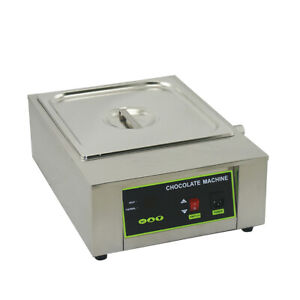 1000w Commercial Electric Chocolate Heater Melter Melting Pot Machine 1kw 18kg