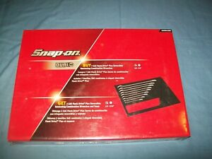 New Snap On 1 4 Thru 3 4 12pt Flank Drive Plus Ratchet Wrench Set Soxrr01fbrx