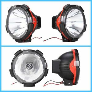 9 Hid Xenon 75w Off Road Sport Beam Driving Light Fog Lamp 6000k 4wd Universal