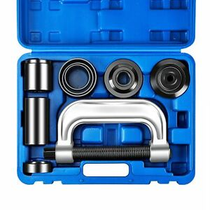 Heavy Duty 4 In 1 Ball Joint Press U Joint Removal Tool Kit W 4 X 4 Adapters