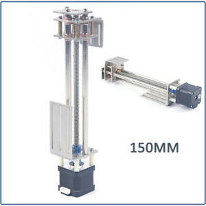 Z axis Slide 150mm Diy Milling Linear Motion Guide Rail For Cnc Engraving Motion