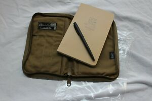 Rite In The Rain 980t Kit All Weather 5x7 Notebook pen And Carrying Case Tan