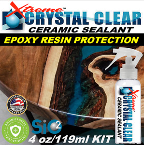 Epoxy Resin Ceramic Clear Coat Sealant Superior Scratch Resistance Crystal Clear