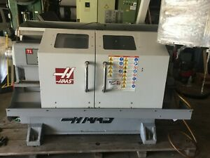Haas Tl 1 Toolroom Lathe 2008 Tailstock A2 5c Collet Chuck Rigid Tap