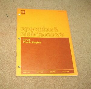 Caterpillar 3208 Truck Engine Operation Maintenance Manual 2