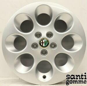 4 Rims Alloy Alfa Romeo 147 156 6 5 X 15 Original 60687545 Silver New