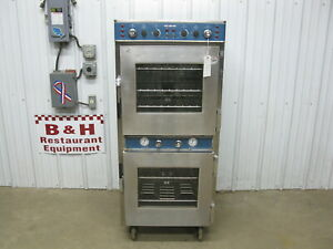 Alto Shaam 1767 sk Halo Heat Electric Slow Cook Hold Double Oven Smoker
