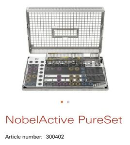 Nobel Active Pureset Dental Implant Surgical Drill Set New In Box 300402