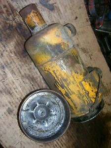 Vintage Minneapolis Moline R Tractor Engine Air Cleaner