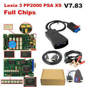 Full Chips Lexia 3 Pp2000 Psa Xs Evolution Diagbox V7 83 Fault Code Reader Test
