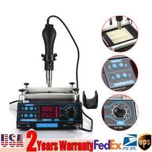 Us Preheater Infrared Station Smd Hot Plate Welder Preheating Rework Station Pcb