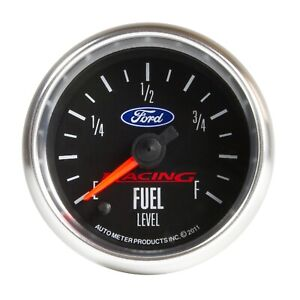 Autometer 880400 Ford Racing Series Electric Fuel Level Gauge