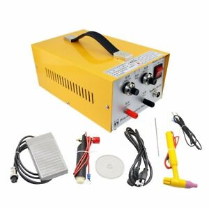 Jewelry Spot Welder Dx 30a Ring Butt Welding Machine For Gold And Silver