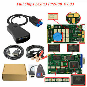 Full Chips Gold Edge Lexia3 Pp2000 Psa Xs Evolution Diagbox V7 83 Lexia