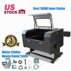 20 X 28 Reci 100w Co2 Laser Engraver Cutter With Double Side Open Door