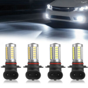 4x Led Headlight Bulb Fits Chevy Pickup Truck K1500 1990 1999 High Low Beam