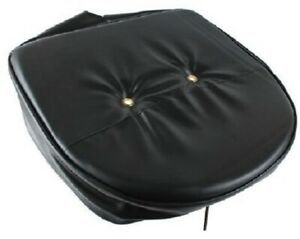 Universal Black Pan Style Seat Cushion Bottom For Tractors Ford john Deere case
