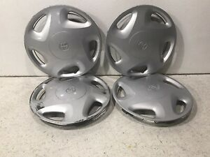 1998 2000 Toyota Tacoma 14 2x4 Wheel Cover Hub Cap Silver 5 Spoke 42621 ad020