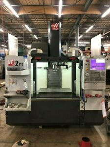 Used 2013 Haas Vf 2yt Cnc Vertical Machining Center Mill High Speed Machining Ct