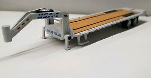 Greenlight Gooseneck Flat Deck Bed Trailer 1 64 Scale Farm Equipment Hitch Tow