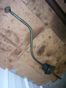 Vintage Oliver 77 Gas Row Crop Tractor Trans Shift Lever Assy 1955