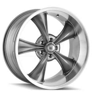4 New 18 Ridler 695 Wheels 18x8 5x4 75 5x120 65 0 Gunmetal Rims
