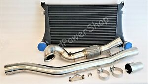 Turbo Catless Downpipe Intercooler Kit For Vw Golf R Mk7 Audi S3 A3 tt Quattro