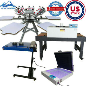 Us Screen Printing Machine conveyor Tunnel Dryer ir Flash Dryer uv Exposure Unit