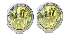 Hella Yellow Cover Lens Pair For Rallye 4000 3000 Series Compact H87988391
