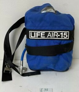 Preowned Lifeair 15 Minute Escape Air Tank Warranty Fast Shipping