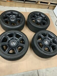 20 Rolls Royce Oem Wheels With Tires For Ghost Wraith Dawn Phantom