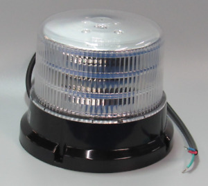 5 Cylinder White 36 Led Beacon Light Warning Dome Flash Roof Emergency Strobe