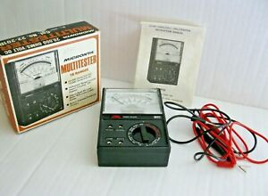 Radio Shack Micronta 22 201b Multimeter Vintage And Next To New