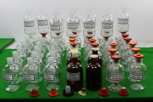 Job Lot Of Used Laboratory Glassware 60 X 500ml Flasks Some W Stoppers